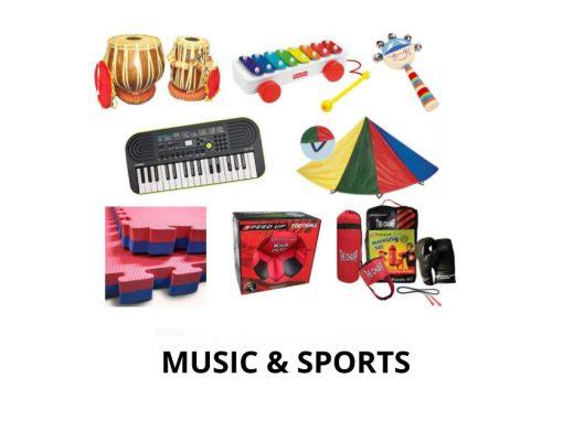 MUSIC & SPORTS